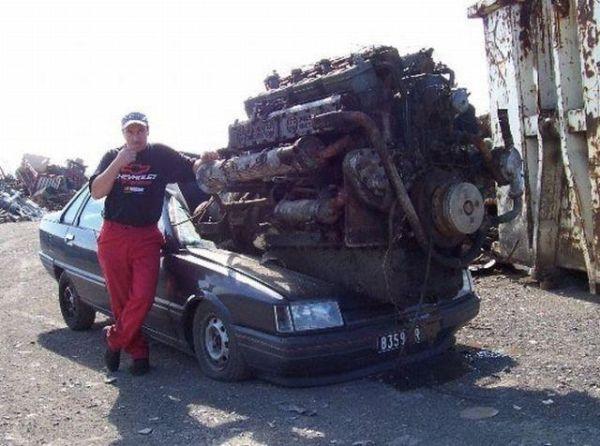 Real Muscle Car Car Humor