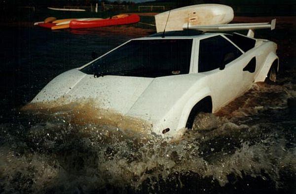 World's First Amphibious Lamborghini Car Humor