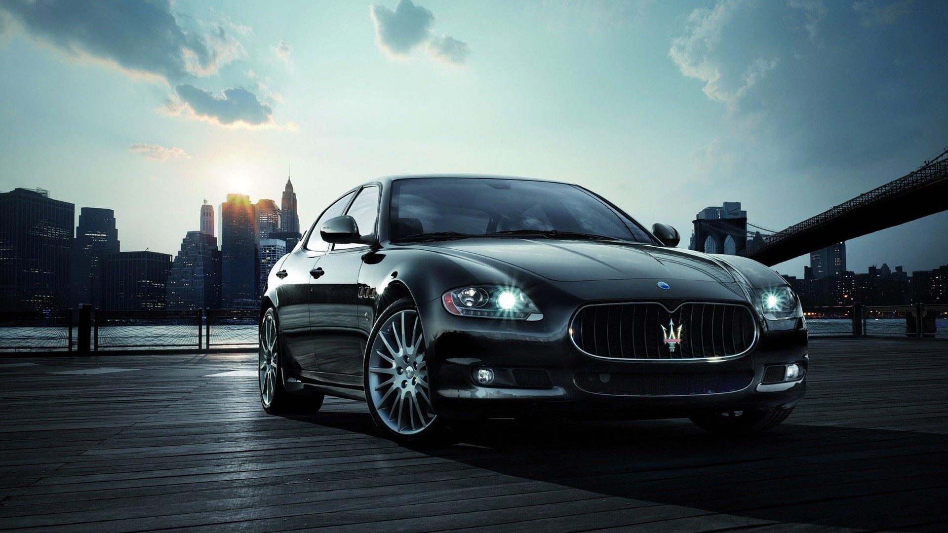 Car wallpaper maserati quattroporte