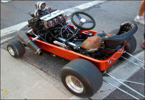 Car Humor Joke Funny Pimp Little Red Wagon Go Cart