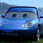 Pixar Cars Sally Also Known As Porsche 911