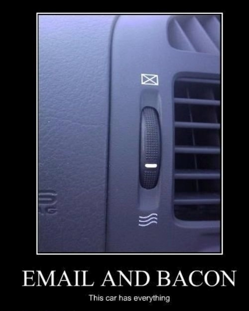 car joke funny humor email and bacon car humor