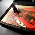 Crashed Ferrari Coffee Table By Charly Molinelli