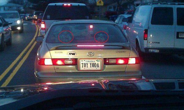 Car Humor Funny Joke Toyota Toyoda Toy Yoda Yoda Star Wars