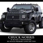 If Chuck Norris was a Transformer…