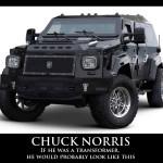 If Chuck Norris was a Transformer…