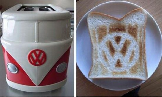vw van toaster. Black Bedroom Furniture Sets. Home Design Ideas
