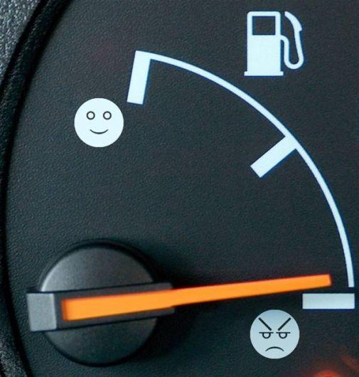 car-humor-funny-joke-road-street-drive-fuel-gas-face-meter ...
