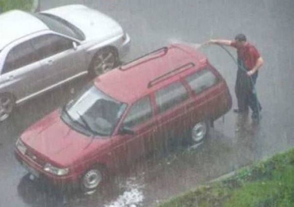 Car And Driver >> Have Your Car Washed And Make It Rain – Car Humor