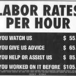 Car Mechanics Labor Rates