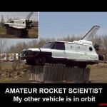 Amateur Rocket Scientist