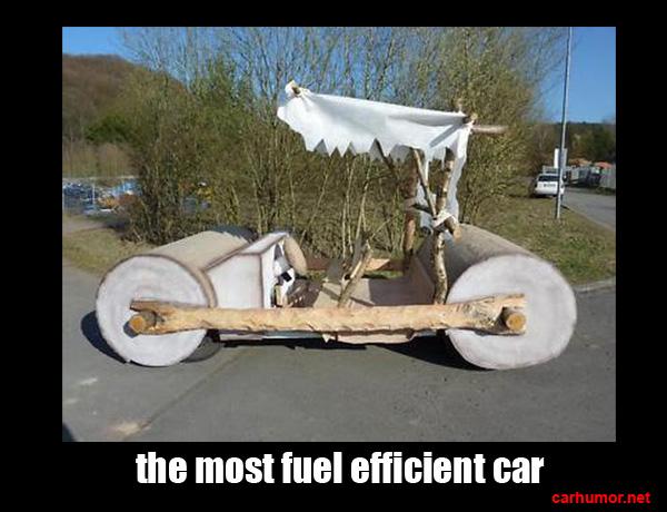 The Most Fuel Efficient Car – Car Humor