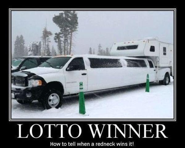 ... -joke-road-street-drive-driver-lotto-winner-redneck [ Lotto Winner
