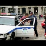 Victim Steals Police Car Prank