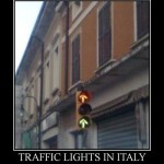 Traffic Lights In Italy