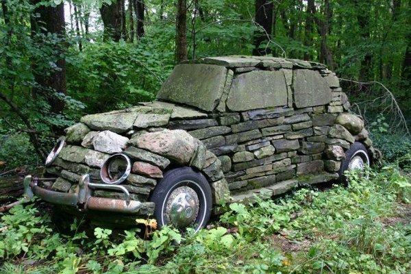 Stone Age Car