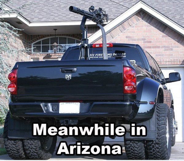 Truck Driver Jokes http://carhumor.net/meanwhile-in-arizona/