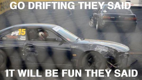 Go Drifting Car Humor