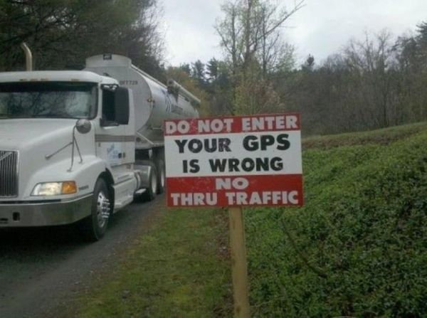 Wrong Directions GPS