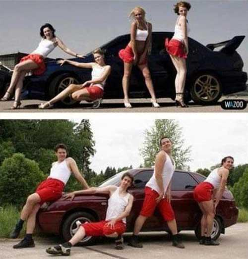 Why Guys Don't Do Car Ads