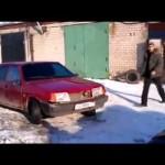 Russian Car Demolition