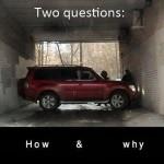 Stuck SUV