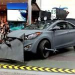 Hyundai Elantra Coupe Zombie Survival Car