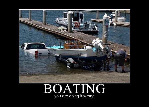 Boating - Car humor