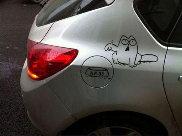 Meow! - Car humor