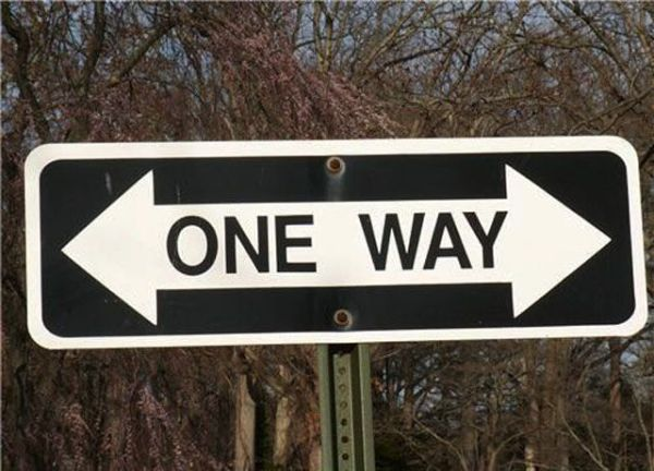 One way?!?! - Car humor