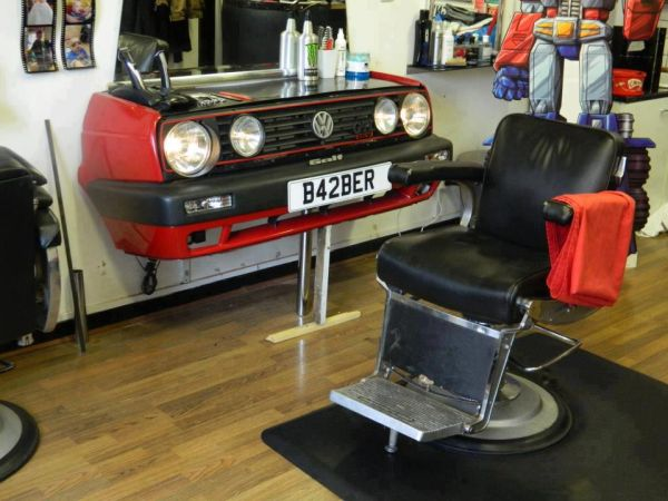 Barbershop For Drivers - Car humor