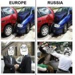 Europe Vs. Russia