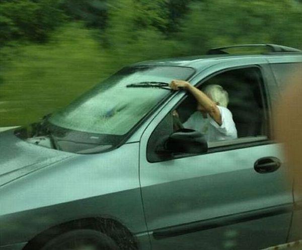DIY Wipers - Car humor
