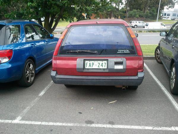 Licence Plate Fail - Car humor