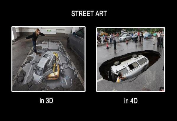 Street Art - Car humor