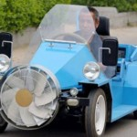 Wind Powered Electric Car From China
