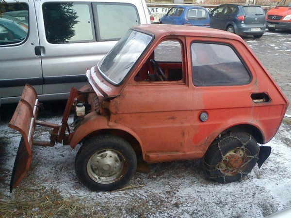 Are you ready for winter - Car humor