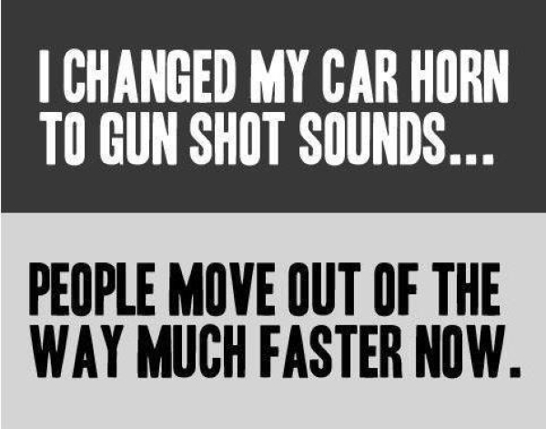 How To Make Drivers Move Faster - Car humor