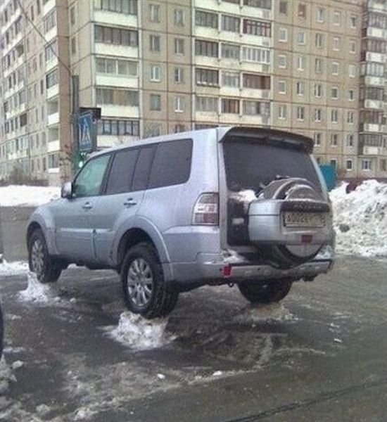 Meanwhile In Russia - Car humor