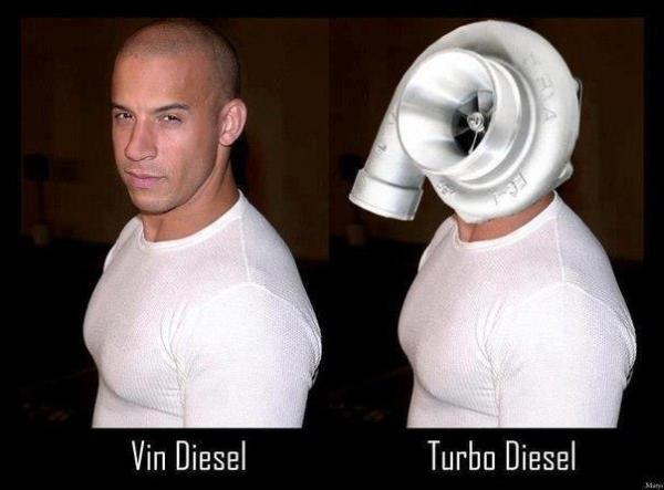 Diesel Vs. Turbo Diesel - Car humor