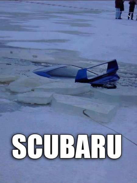 Scubaru - Car humor