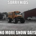 Sorry Kids!