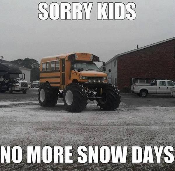 Sorry Kids! - Car humor