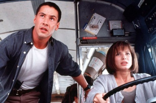 Movie Speed - Keanu Reeves and Sandra Bullock