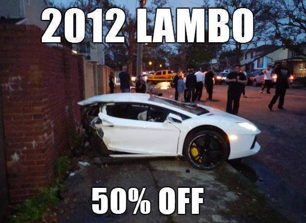 2012 Lambo - 50percent off