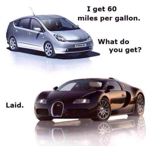 60 miles per galon