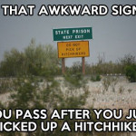 That funny sign…