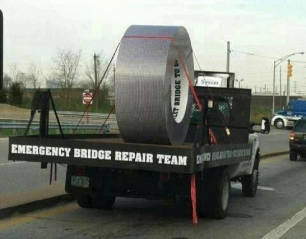 funny-pictures-emergency-bridge-repair-team-duct-tape-truck