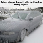 Put The Wipers Up