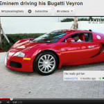 Eminem In His New Bugatti Veyron